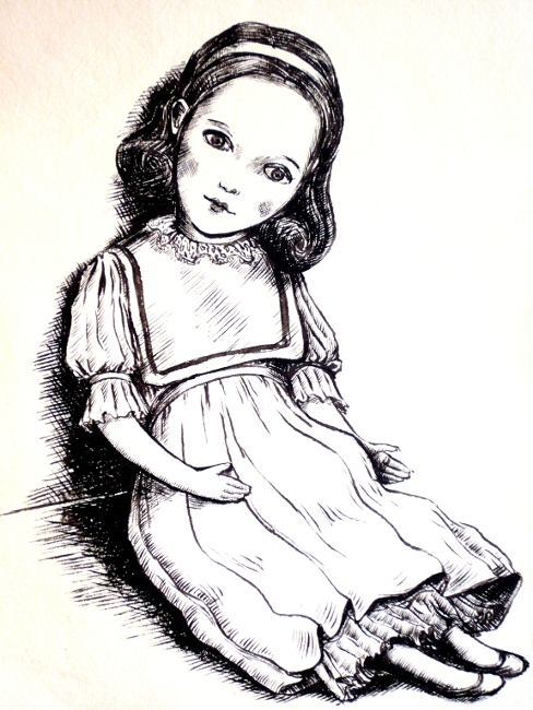 Doll (Victorian clothes)